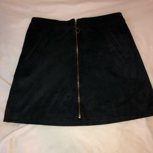 Abercrombie and Fitch Faux Suede Skirt